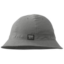 Outdoor Research Misconduct Bucket Hat - Organic Cotton (For Men and Women) in Pewter - Closeouts