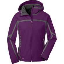 Outdoor Research Mithril  Soft Shell Jacket (For Women) in Orchid/Crocus - Closeouts