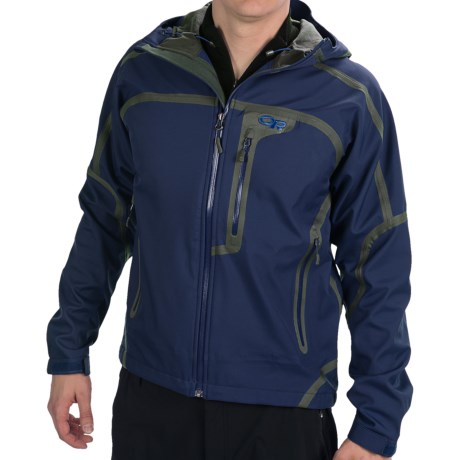 Outdoor Research Mithril Soft Shell Jacket - Waterproof (For Men) in Dusk