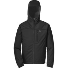 Outdoor Research Mithrilite Hooded Jacket - Waterproof, Soft Shell (For Men) in Black - Closeouts