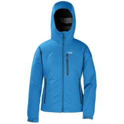 Outdoor Research Mithrilite Soft Shell Jacket - Waterproof (For Women) in Flame