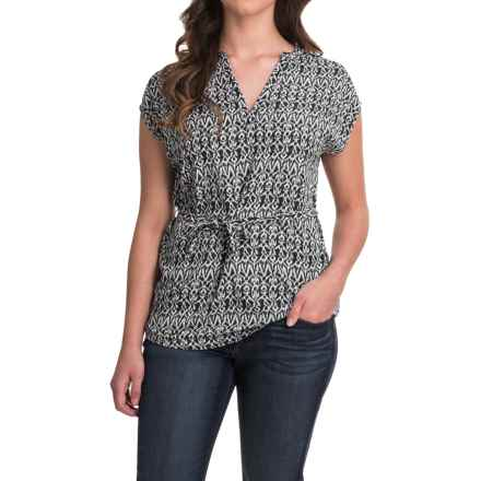 Outdoor Research Moon Dance Tunic Shirt - Short Sleeve (For Women) in Black - Closeouts