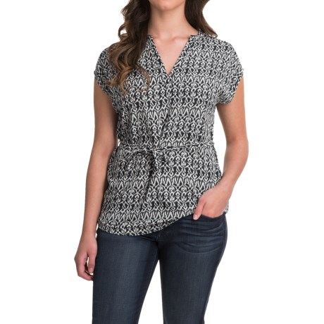 Image of Outdoor Research Moon Dance Tunic Shirt - Short Sleeve (For Women)