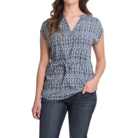 Outdoor Research Moon Dance Tunic Shirt - Short Sleeve (For Women) in Night - Closeouts