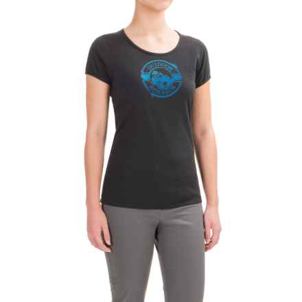 Outdoor Research Motif T-Shirt - Organic Cotton, Short Sleeve (For Women) in Black - Closeouts