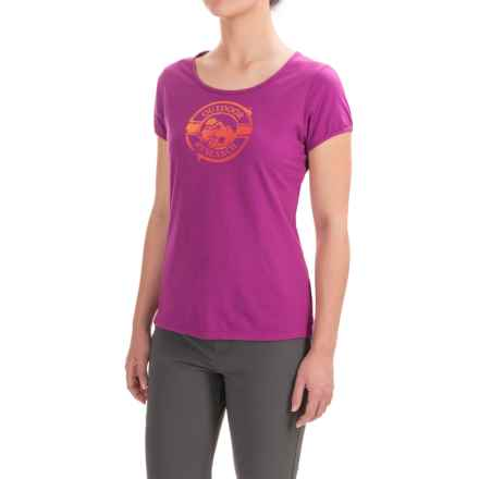 Outdoor Research Motif T-Shirt - Organic Cotton, Short Sleeve (For Women) in Wisteria - Closeouts