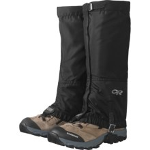 Outdoor Research M's Rocky Mountain High Gaiter in Black - Closeouts