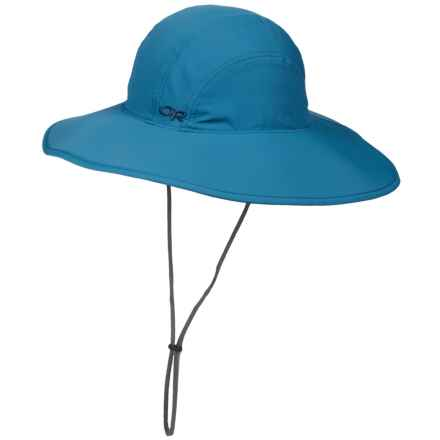 Outdoor Research Oasis Sun Sombrero Hat - UPF 50+ (For Women) in Cornflower - Closeouts