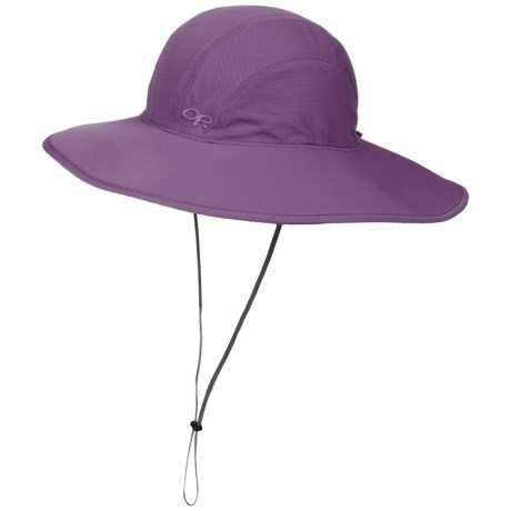 Outdoor Research Oasis Sun Sombrero Hat - UPF 50+ (For Women) in Fig 438c7dbeb6