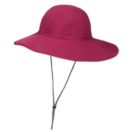 Outdoor Research Oasis Sun Sombrero Hat - UPF 50+ (For Women) in Mulberry - Closeouts
