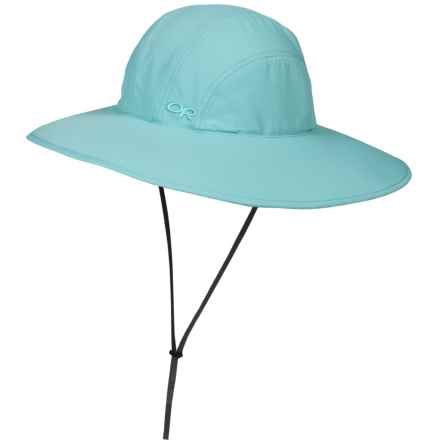 Outdoor Research Oasis Sun Sombrero Hat - UPF 50+ (For Women) in Pool - Closeouts