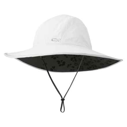 Outdoor Research Oasis Sun Sombrero Hat - UPF 50+ (For Women) in White - Closeouts