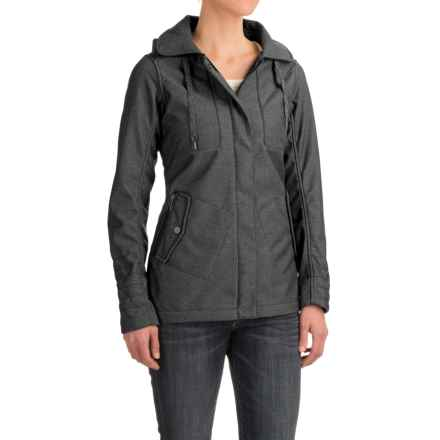 Outdoor Research Oberland Hooded Jacket (For Women) in Charcoal - Closeouts