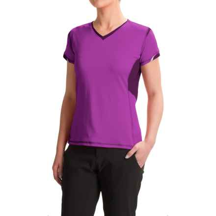 Outdoor Research Octane Shirt - Short Sleeve (For Women) in Ultraviolet - Closeouts