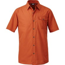 Outdoor Research Overtone Shirt - Short Sleeve (For Men) in Diablo - Closeouts