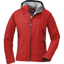 Outdoor Research Paladin Jacket - Waterproof (For Women) in Salsa - Closeouts