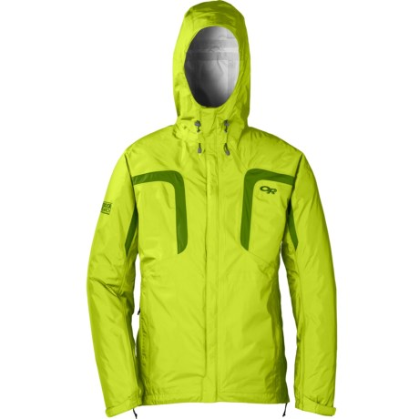 Outdoor Research Panorama Jacket - Waterproof (For Men) in Lemongrass/Leaf