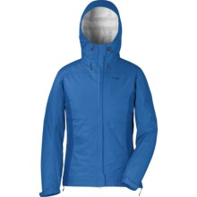 Outdoor Research Panorama Jacket - Waterproof (For Women) in Bluebird/Glacier - Closeouts