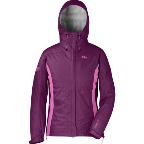 Outdoor Research Panorama Jacket - Waterproof (For Women) in Orchid/Crocus