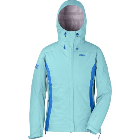 Outdoor Research Panorama Jacket - Waterproof (For Women) in Pool/Hydro