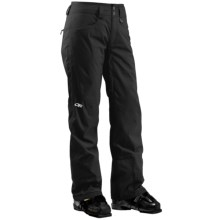 Outdoor Research Paramour Snow Pants - Waterproof, Insulated (For Women) in Black - Closeouts