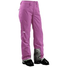 Outdoor Research Paramour Snow Pants - Waterproof, Insulated (For Women) in Crocus/Orchid - Closeouts