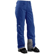 Outdoor Research Paramour Snow Pants - Waterproof, Insulated (For Women) in Sapphire - Closeouts