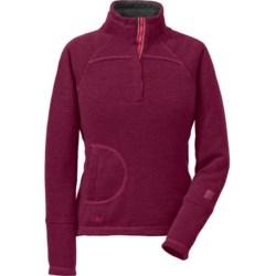 Outdoor Research Pelma Fleece Sweater (For Women) in Mulberry
