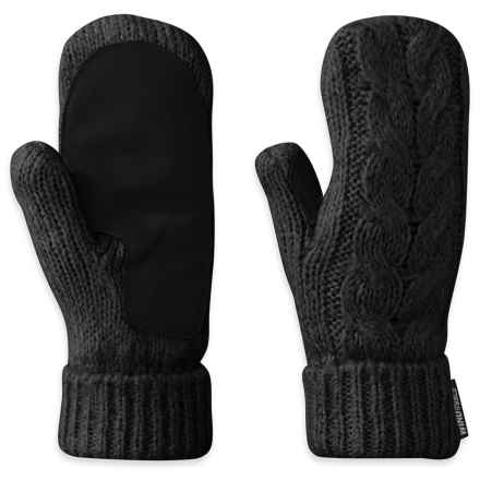 Outdoor Research Pinball Mittens (For Women) in Black - Closeouts