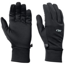 Outdoor Research PL 100 Fleece Gloves (For Men) in Black - Closeouts