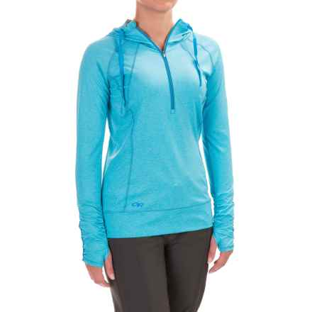 Outdoor Research Playa Hoodie - UPF 50+, Zip Neck (For Women) in Rio - Closeouts