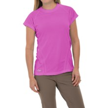 Outdoor Research Polartec® Power Dry® Torque T-Shirt - Short Sleeve (For Women) in Crocus - Closeouts