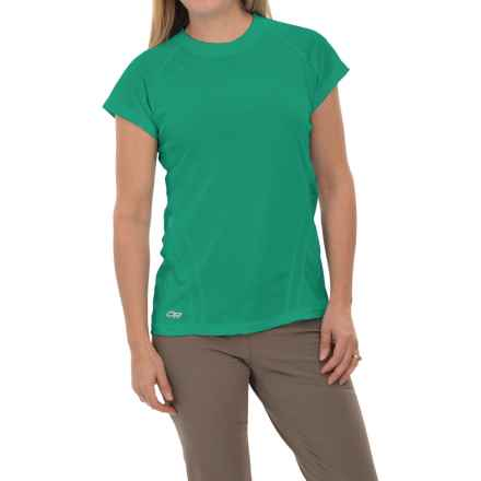 Outdoor Research Polartec® Power Dry® Torque T-Shirt - Short Sleeve (For Women) in Gem - Closeouts