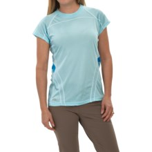 Outdoor Research Polartec® Power Dry® Torque T-Shirt - Short Sleeve (For Women) in Pool - Closeouts