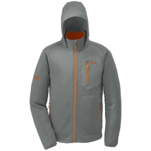 Outdoor Research Powerhouse Hoodie Sweatshirt - Polartec® Wind Pro® (For Men) in Pewter - Closeouts