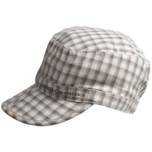 Outdoor Research Radar Hat - UPF 30 (For Kids) in Walnut Plaid - Closeouts
