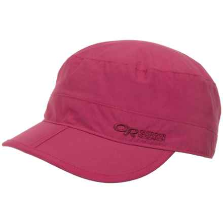 Outdoor Research Radar Pocket Cap - UPF 50+ (For Men and Women) in Sangria - Closeouts