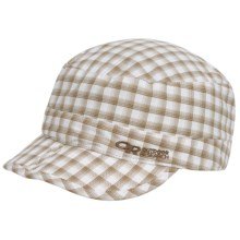 Outdoor Research Radar Pocket Cap - UPF 50+ (For Men and Women) in Walnut Plaid - Closeouts