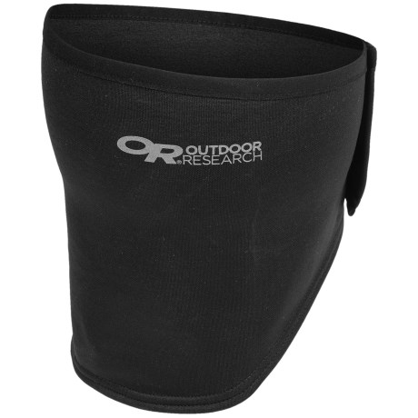 Outdoor Research Radiant Face Mask (For Men and Women) in 001 Black