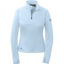 Outdoor Research Radiant Hybrid Fleece Jacket (For Women) in Atmosphere - Closeouts