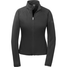 Outdoor Research Radiant Hybrid Fleece Jacket (For Women) in Black - Closeouts