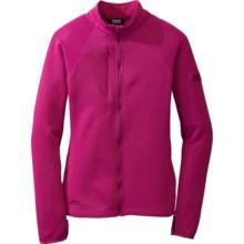 Outdoor Research Radiant Hybrid Fleece Jacket (For Women) in Desert Sunrise - Closeouts