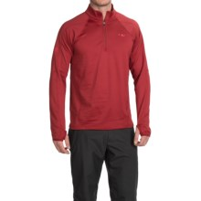 Outdoor Research Radiant LT Fleece Pullover Shirt- Zip Neck, Long Sleeve (For Men) in Redwood - Closeouts