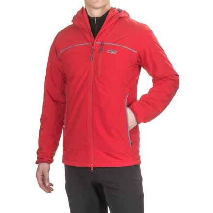 Outdoor Research Razoredge PrimaLoft® Hooded Jacket - Insulated (For Men) in Agate/Vintage - Closeouts