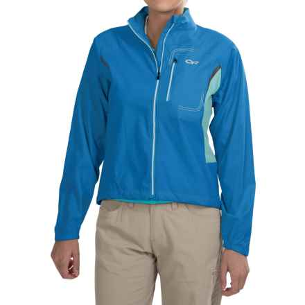 Outdoor Research Redline Jacket (For Women) in Hydro/Pool - Closeouts