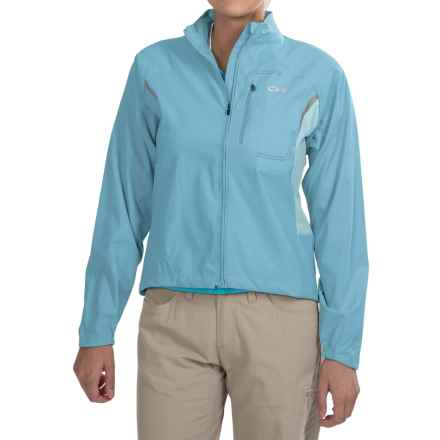 Outdoor Research Redline Jacket (For Women) in Pool Smu - Closeouts