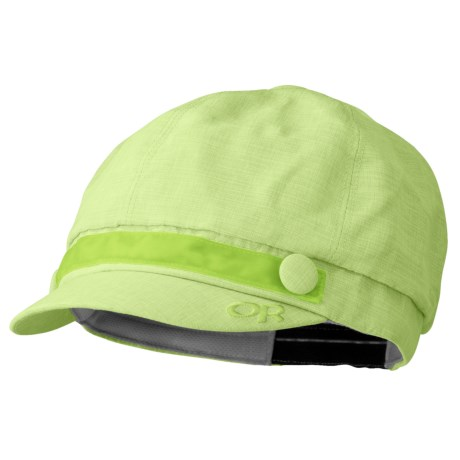 Outdoor Research Reflection Cap - UPF 50 (For Women) in Olivine