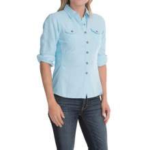 Outdoor Research Reflection Sentinel Shirt - Insect Shield®, UPF 50+, Long Sleeve (For Women) in Pool - Closeouts