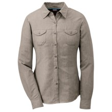 Outdoor Research Reflection Shirt - UPF 50+, Long Sleeve (For Women) in Mushroom - Closeouts