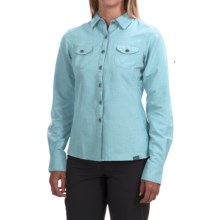 Outdoor Research Reflection Shirt - UPF 50+, Long Sleeve (For Women) in Pool - Closeouts